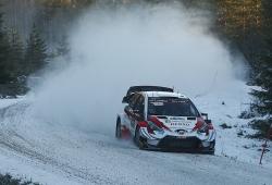Elfyn Evans toma el mando en los primeros tramos del Rally de Suecia