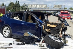 Emergen detalles del primer accidente mortal de un Tesla Model X con Autopilot