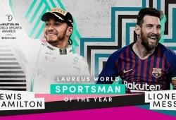 Hamilton y Messi, ganadores del Laureus 2020 al mejor deportista masculino