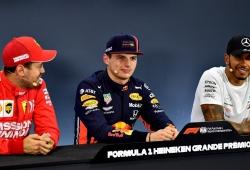 Horner descarta a Hamilton, Vettel u otro piloto que haga sombra a Verstappen