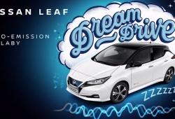 Nissan LEAF Dream Drive, un sonido especial para dormir niños en coches eléctricos