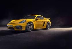 Los Porsche 718 Spyder y 718 Cayman GT4 estrenan caja PDK este año