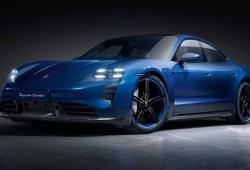 El Porsche Taycan añade más fibra de carbono con el Sportdesign Package Carbon