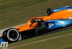 Sainz: «El MCL35 supone un buen paso hacia adelante en la dirección adecuada»