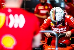 Vettel completa un «shakedown» previo al inicio de los test con el Ferrari SF1000