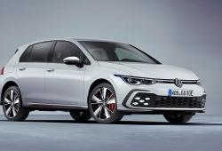 Volkswagen Golf GTE 2020, el compacto híbrido enchufable estrena generación