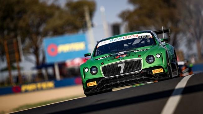 Bentley consigue una brillante victoria en las 12 Horas de Bathurst 2020