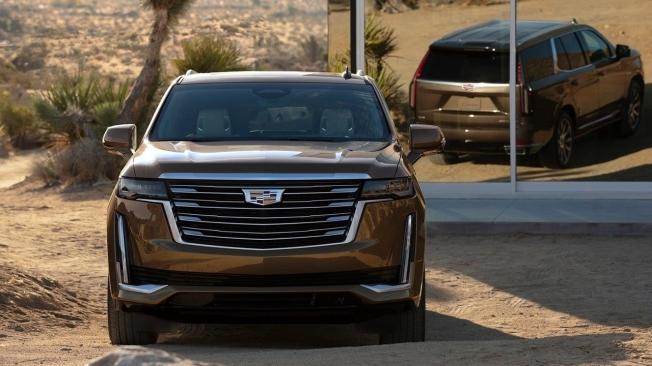 Cadillac Escalade 2021 - frontal