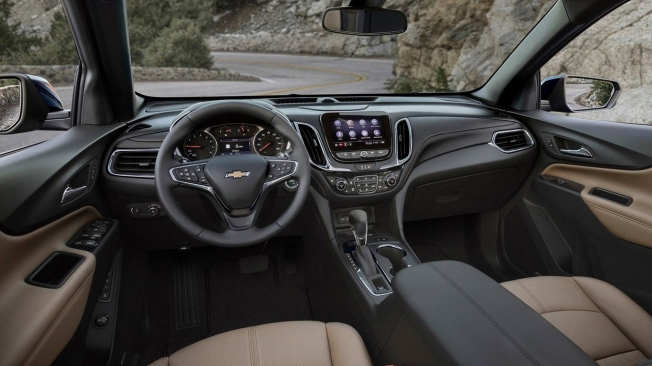 Chevrolet Equinox 2021 - interior