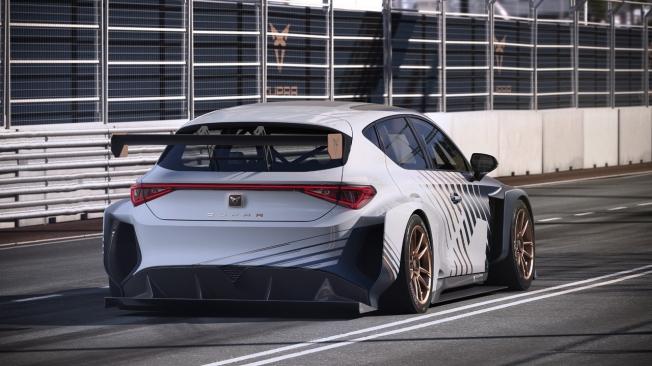 El CUPRA e-Racer señala el futuro eléctrico del automovilismo deportivo