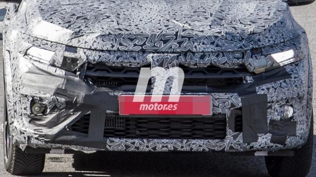 Dacia Sandero 2021 - foto espía frontal