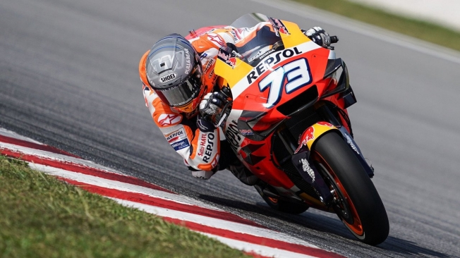 Fabio Quartararo lidera el primer día del test de MotoGP en Sepang