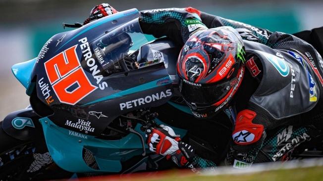 Dos de dos para Fabio Quartararo en el test de MotoGP en Sepang