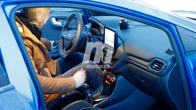 Ford Puma ST - foto espía interior