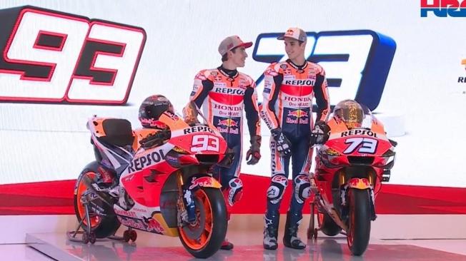 Honda presenta la RC213V de 2020, la MotoGP de los hermanos Márquez