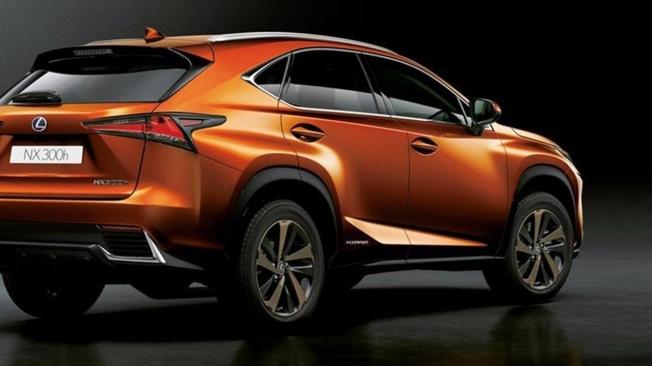 Lexus NX 300h 2020 - posterior