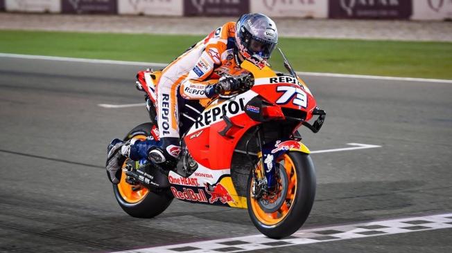 Maverick Viñales acaba la pretemporada 2020 de MotoGP en cabeza