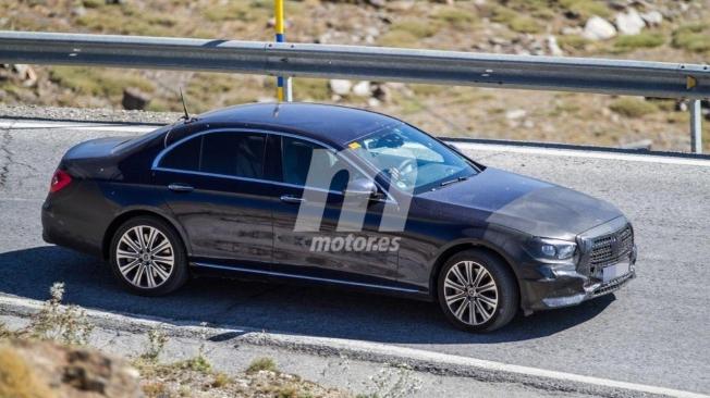 Mercedes Clase E 2020 - foto espía