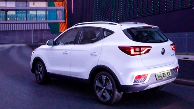 MG ZS EV - posterior