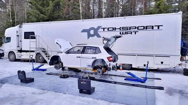Pontus Tidemand y Skoda se suman a la clase WRC2 en el Rally de Suecia