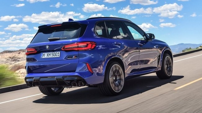 BMW X5 M Competition - posterior