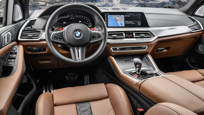 BMW X5 M Competition - interior