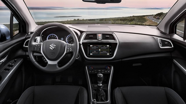 Suzuki S-Cross - interior