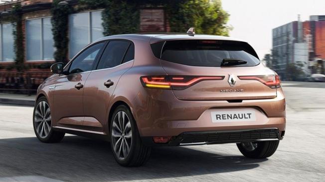 Renault Mégane 2020 - posterior