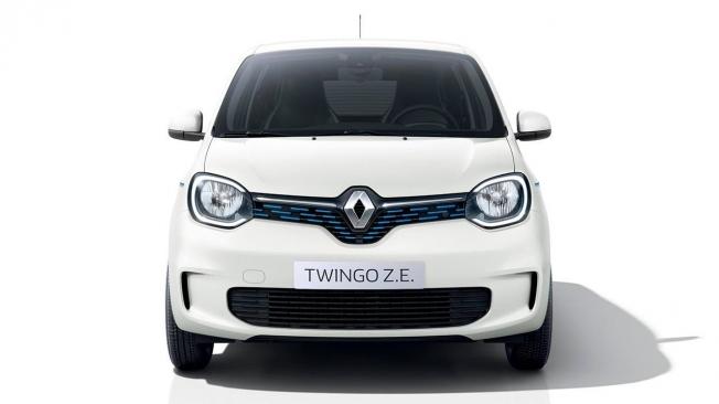 Renault Twingo Z.E. - frontal