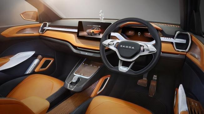 Skoda Vision In - interior