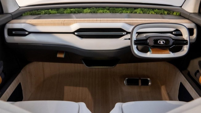 Tata Sierra Concept - interior