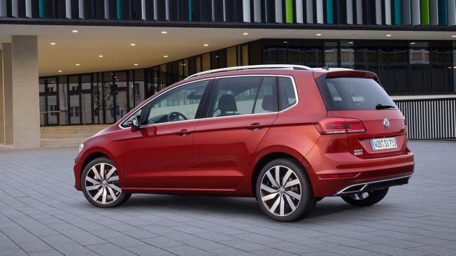Volkswagen Golf Sportsvan - posterior