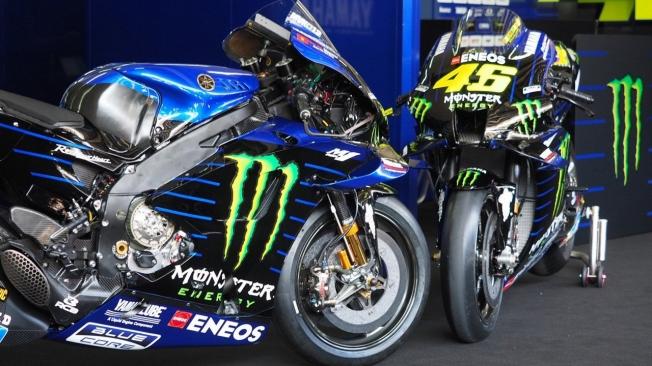 Yamaha y el equipo SRT presentan sus M1 de la temporada 2020 de MotoGP