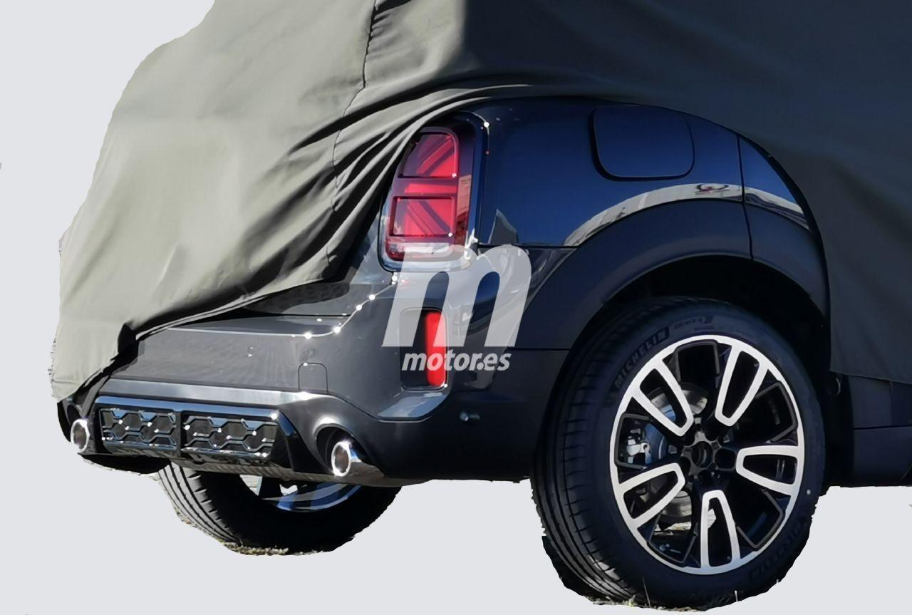 Nuevas fotos espía descubren las novedades del MINI Countryman Facelift  2020