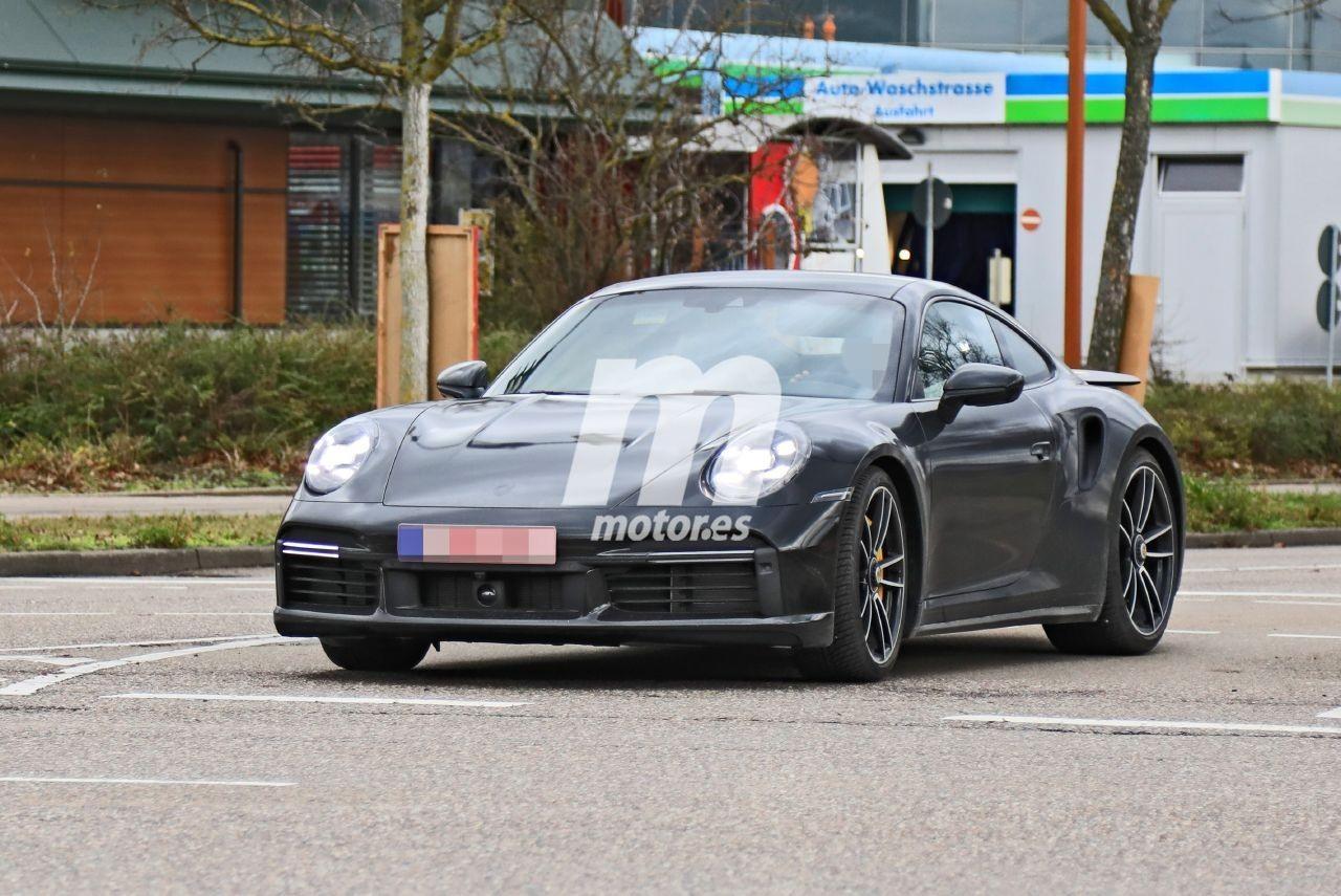 El nuevo Porsche 911 Turbo S 2020 ya se muestra de producción en estas fotos espía
