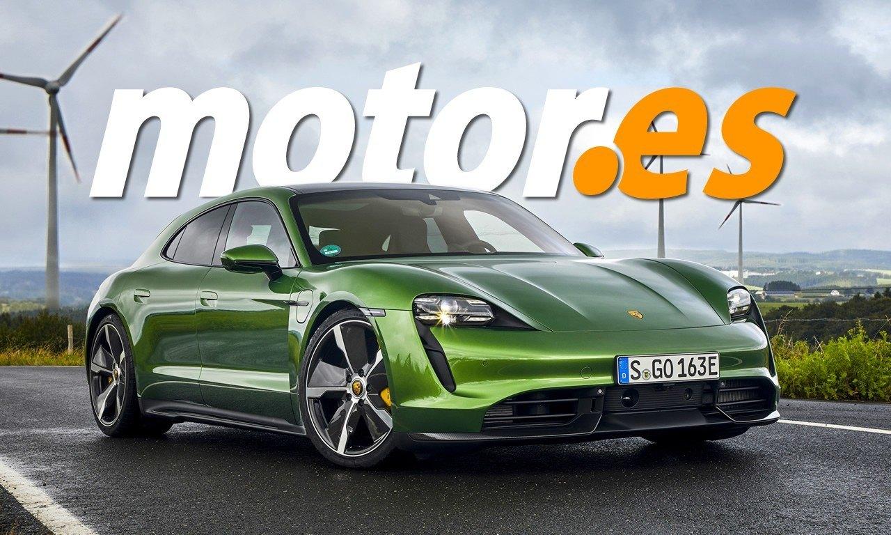 Esta recreación muestra el diseño más real del nuevo Porsche Taycan Cross Turismo