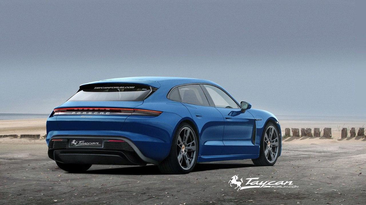 2020 Porsche Taycan | Taycan Sport Turismo 55