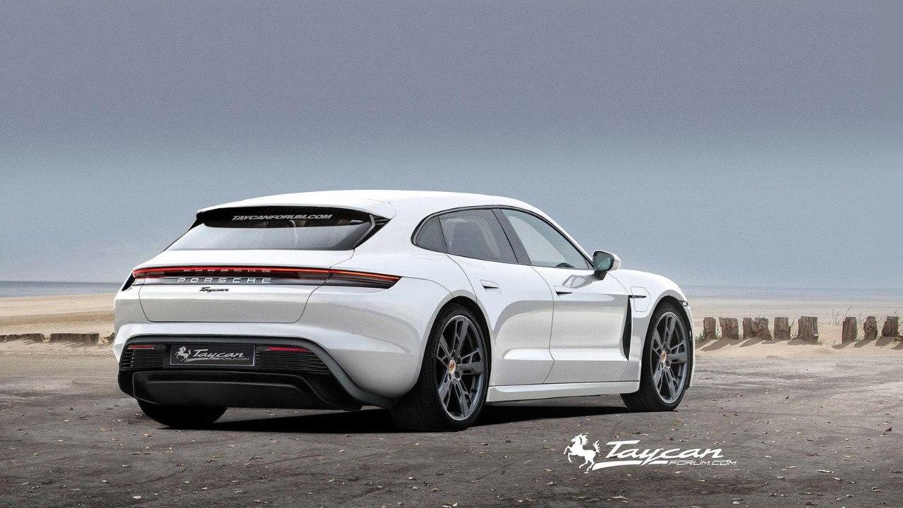 2020 Porsche Taycan | Taycan Sport Turismo 58