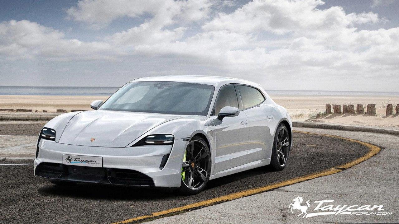 2020 Porsche Taycan | Taycan Sport Turismo 59