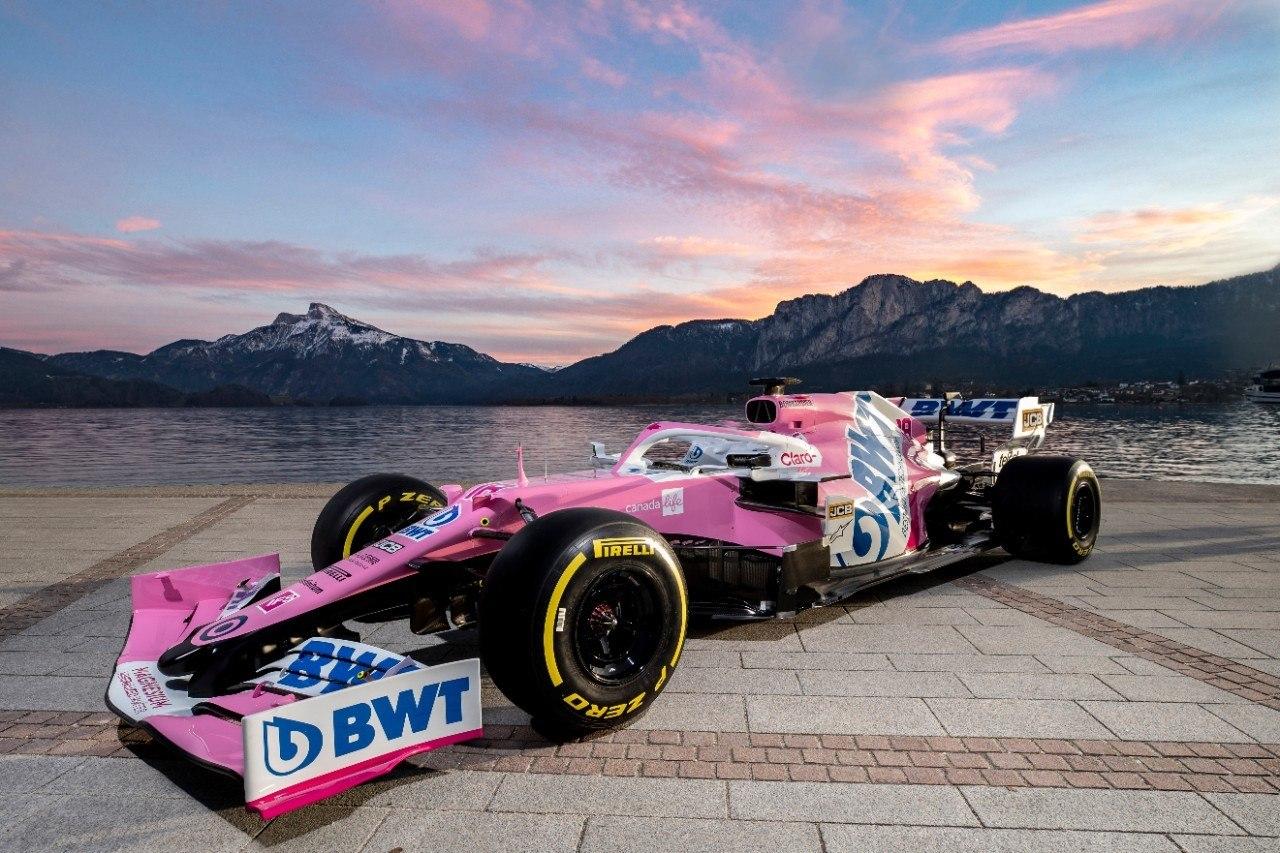 Racing Point presenta la decoración del monoplaza de Pérez y Stroll para 2020
