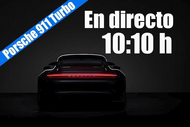 Sigue en directo la presentación del nuevo Porsche 911 Turbo