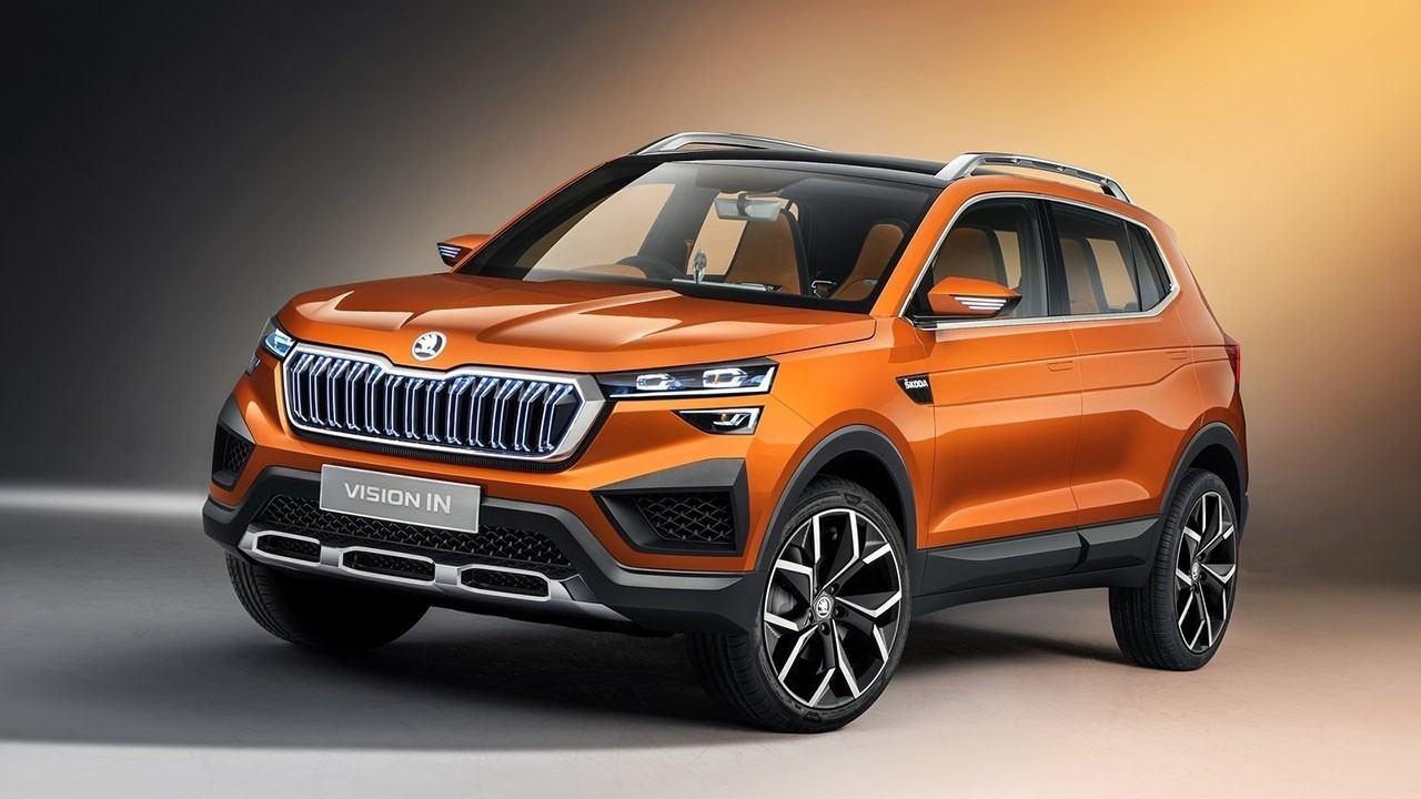 Skoda Vision In, anticipo de un nuevo SUV para la India