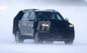 SsangYong comienza las pruebas del facelift del Rexton, el SUV estrenará imagen en 2021