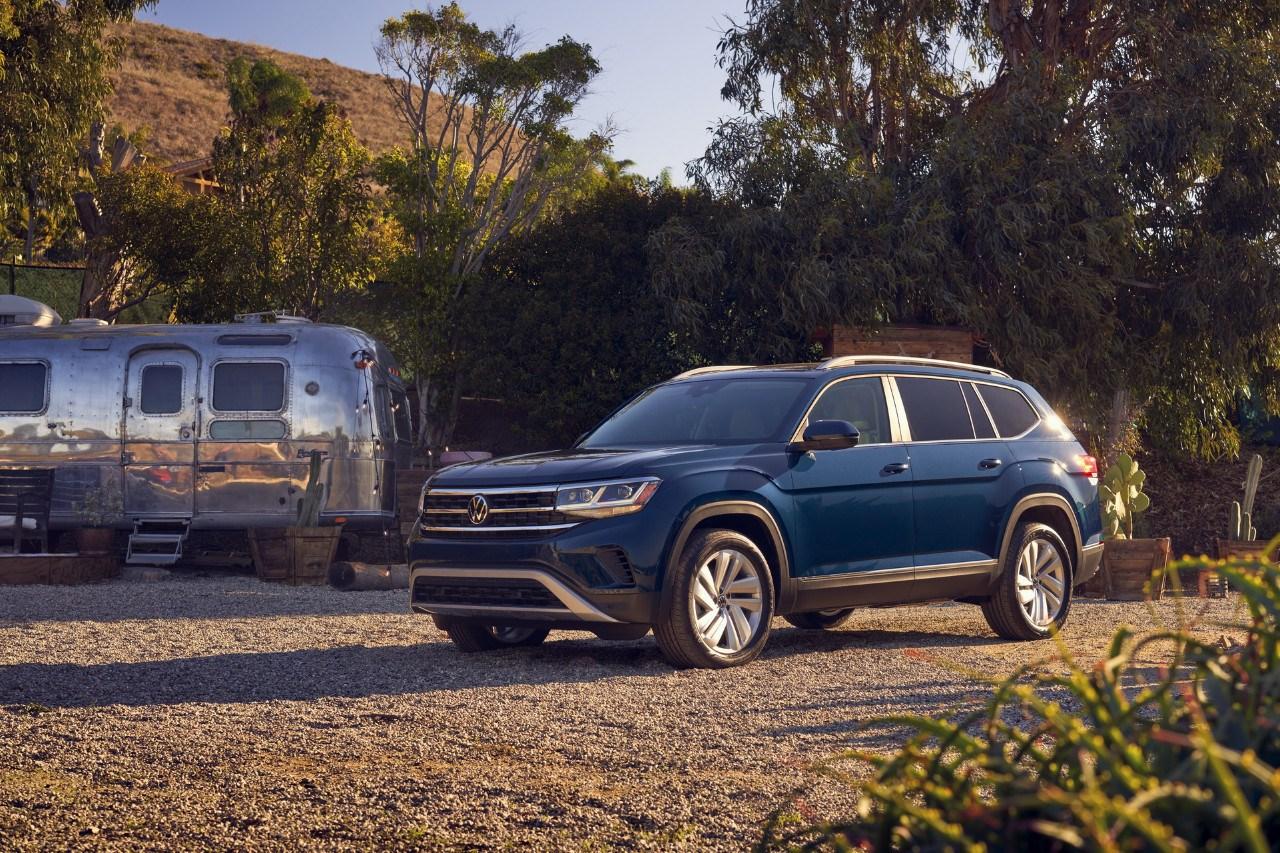 Volkswagen presenta el renovado Atlas 2021 en el Salón de Chicago