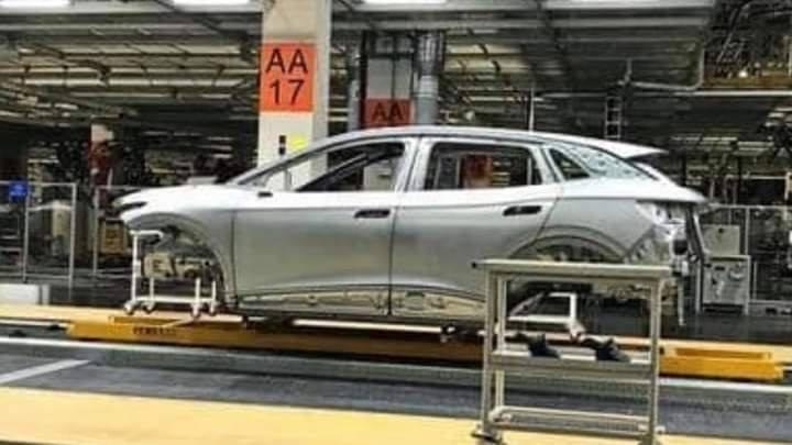 Una filtración descubre la carrocería del nuevo Volkswagen ID.4 en Zwickau