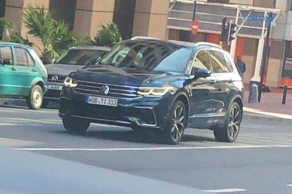 Nueva filtración del Volkswagen Tiguan Facelift, la imagen frontal al descubierto
