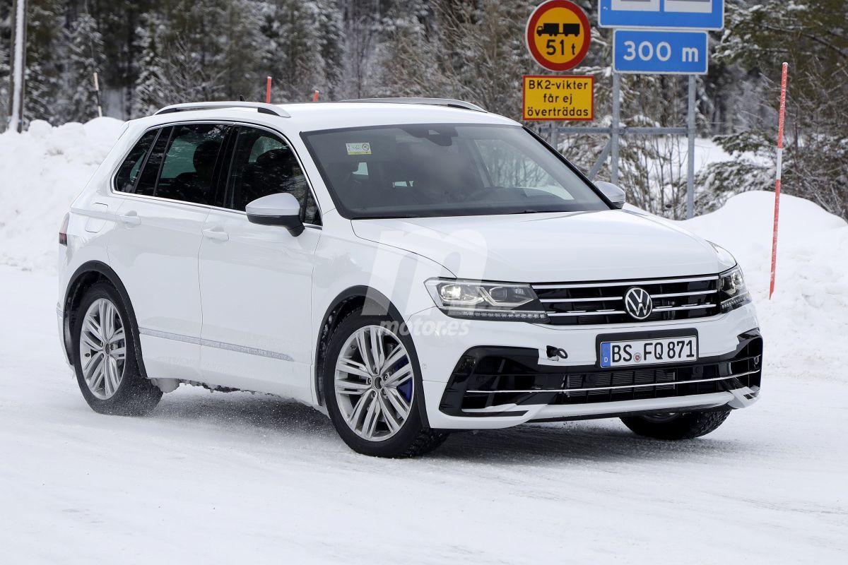 Nuevas imágenes del Volkswagen Tiguan R revelan que el proyecto sigue vivo