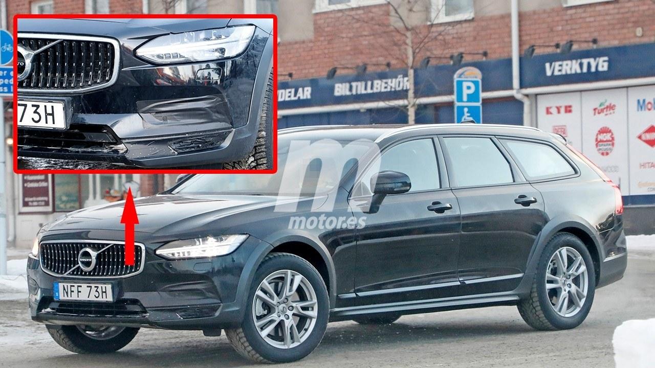El nuevo Volvo V90 Cross Country 2021 al detalle en estas fotos espía