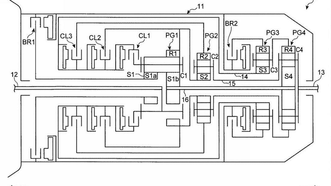 Mazda registra la patente de una nueva transmisión automática híbrida en Japón