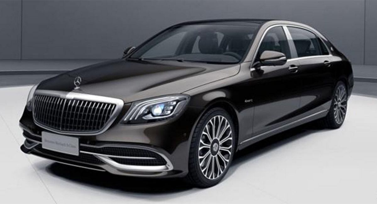 Mercedes-Maybach Clase S Facelift (2018) 20